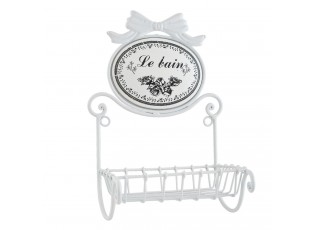"Mýdlenka na zeď ""Le bain"" - 17*13*29 cm"