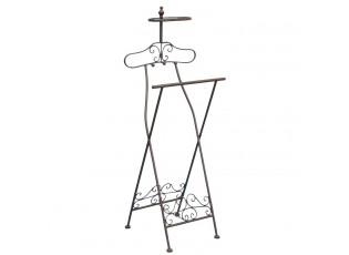 Kovový němý sluha / stojan na oblečení - 46*41*121 cm