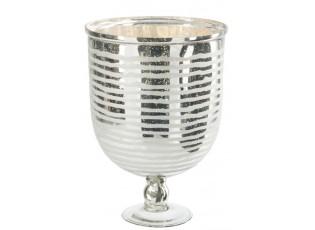 Skleněná váza Striped - 30 x 30 x 42 cm
