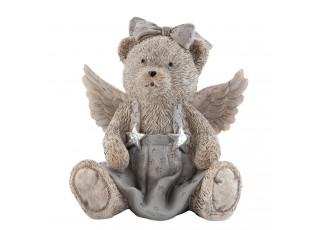 Dekorace Medvídek - 12*8*13 cm