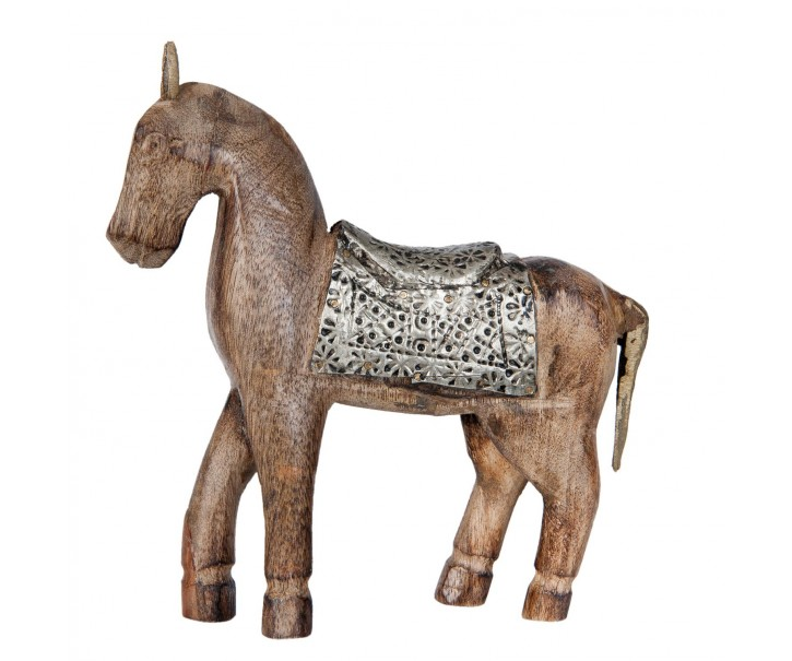 Dřevěný Kůň  - 24*3*21 cm
