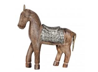 Dřevěný Kůň  - 20*3*16 cm