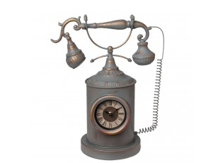 Stolní hodiny telefon 34*18*43 cm