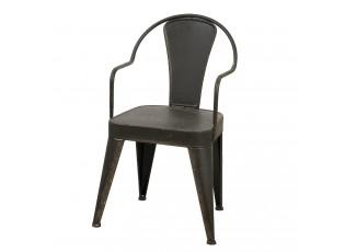 Kovová zahradní židle Marley - 49*47*84 cm
