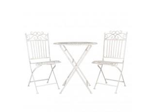 Zahradní skládací souprava - stůl + 2 židle - 38*48*96 cm
