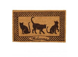 Rohožka Cats - 75*45 cm