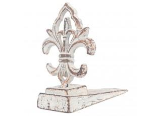 Kovová dveřní zarážka - Ornament - 8*12*12 cm