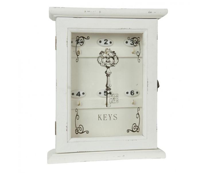 Skříňka na klíče - 25*8*32 cm