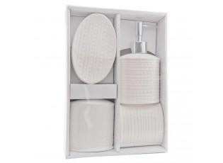 Koupelnový set Tiffi - 13*8*3 cm / 2x 0,2 L