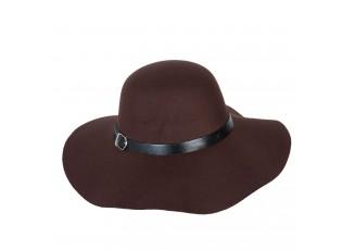 Elegantní dámský klobouk Lea hnědý