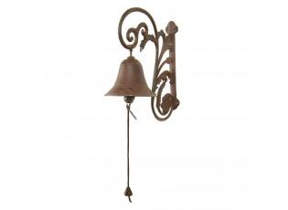 Litinový zvonek s patinou - 27*11*20 cm