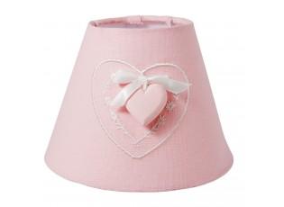 Stínidlo lampa Hearth pink - Ø 17*13 cm