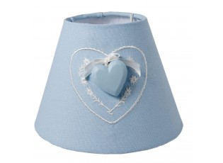 Stínidlo lampa Hearth blue - Ø 17*13 cm