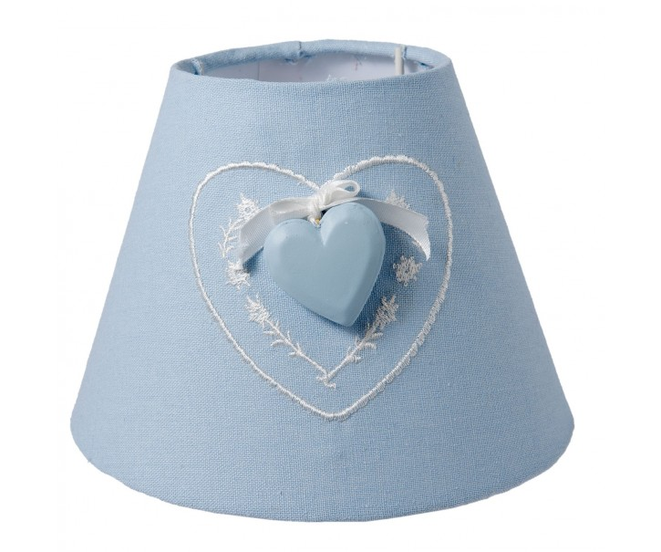 Stínidlo lampa Hearth blue - Ø 17*13 cm