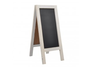"""Tabule """"A"""" - bílá patina - 43*100 cm"""