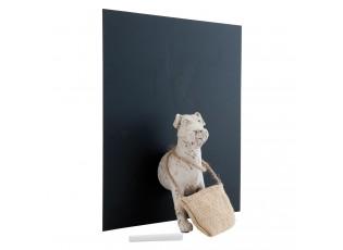 Memo tabule s pejskem - 26*20*32 cm