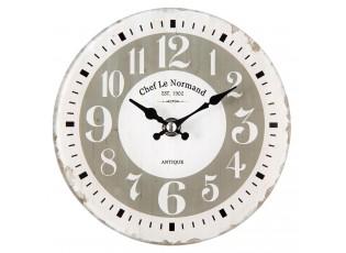 Nástnné hodiny Chef Le Normand - Ø 17*4 cm