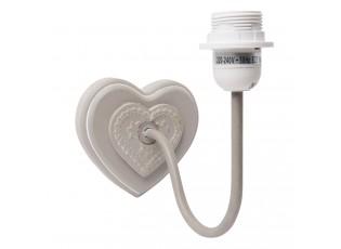 Nástěnné svítidlo srdce - 13*21*19 cm E27/60W
