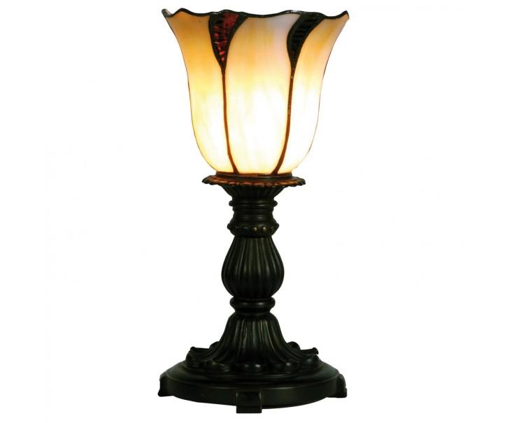 Stolní Tiffany lampa Blossom - Ø 16*32 cm