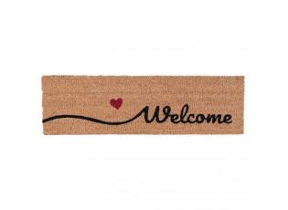 Kokosová rohožka Welcome - 75*22*2 cm