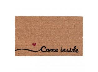 Kokosová rohožka Come inside - 75*45*2 cm