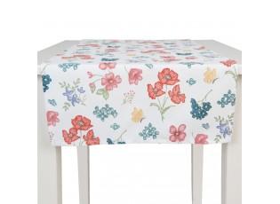 Běhoun na stůl Field Flowers - 50*140 cm