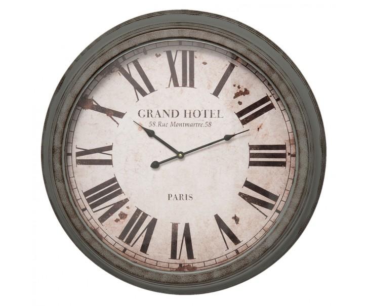 Kovové nástěnné hodiny - Ø 64*10 cm