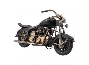 Kovový retro  model motocyl - 36*15*18 cm