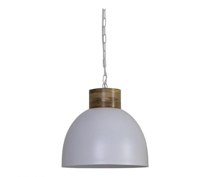 Závěsné světlo SAMANA bílé - Ø40*36 cm