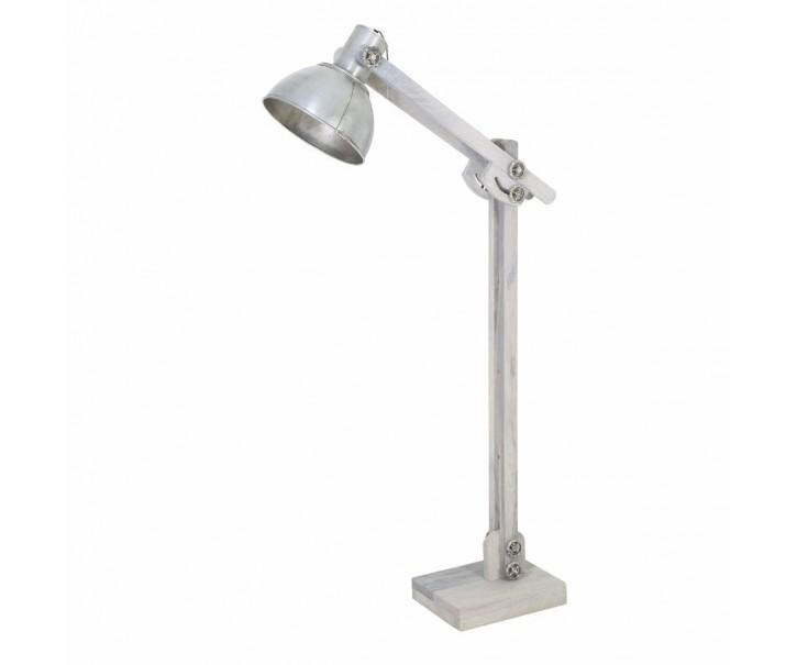 Stojací lampa EDWARD stříbrná - 84*16*125 cm