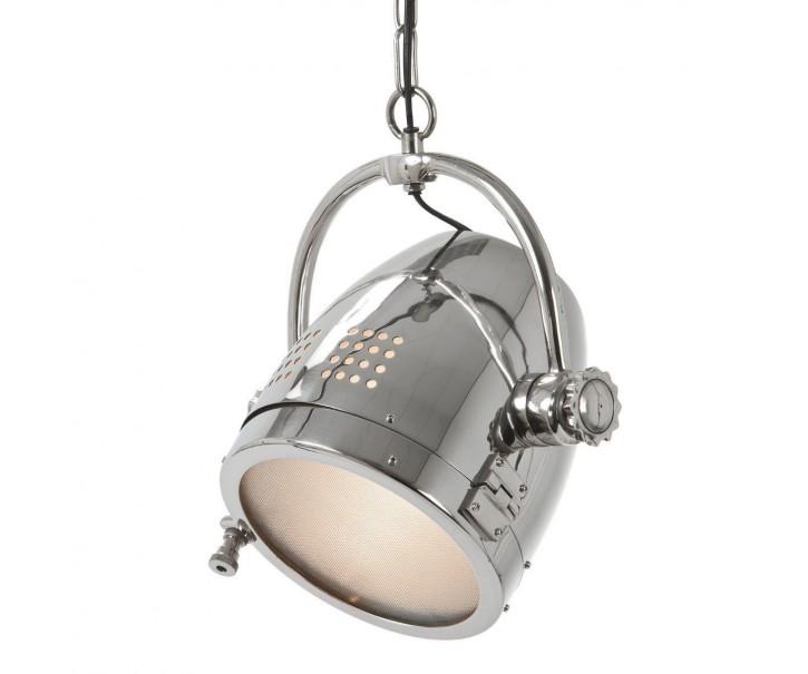Závěsné světlo TAYLOR NICKEL stříbrná - Ø20*30 cm