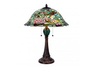 Stolní lampa Tiffany POND - Ø 47*60 cm