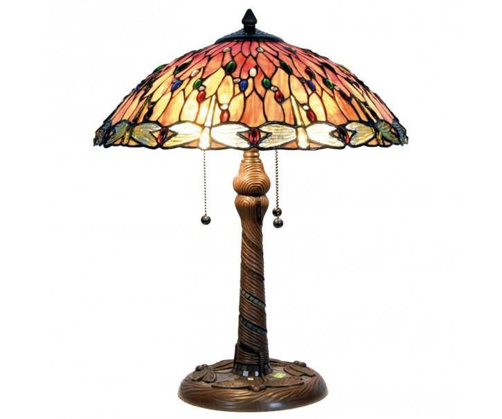 Stolní lampa Tiffany Dragon - Ø 45*56 cm