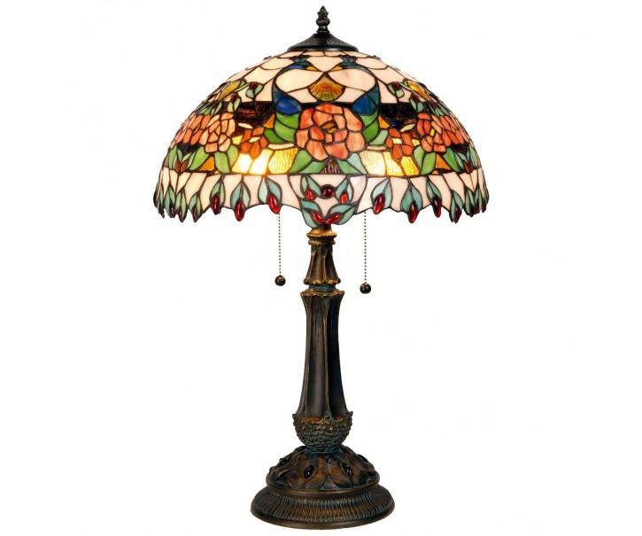 Stolní lampa Tiffany Grapevine - Ø 41*67 cm