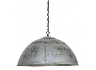 Závěsné světlo MARCHA stříbrná - Ø60*33 cm