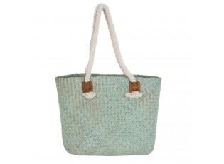 Nákupní/plážová taška zelená - 40*12*28 cm