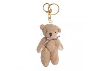 Přívěsek na klíče medvídek - 4*10 cm