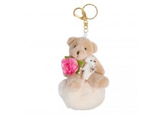 Přívěsek na klíče medvídek - 5*11 cm