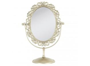 Kosmetické zrcadlo zlaté - 20*11*27 cm