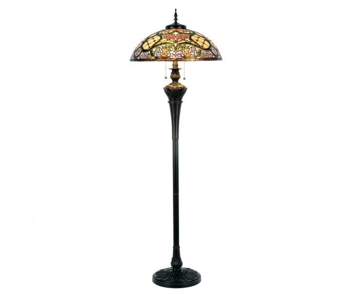 Stojací lampa Tiffany - Ø 55*150 cm 3x E27 / Max 60W