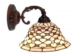Nástěnná lampa Tiffany Blossom -Ø 26*23 cm