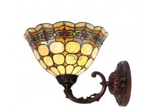 Nástěnná lampa Tiffany Oxford - Ø 25*23 cm UP