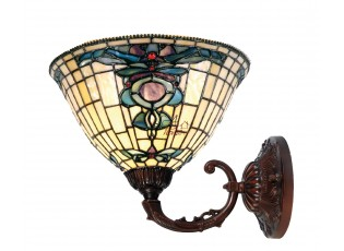 Nástěnná lampa Tiffany Alloment - Ø 26*23 cm