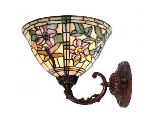 Nástenná lampa Tiffany Cappa - Ø 26 * 23 cm