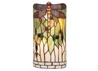 Nástěnná lampa Tiffany Dragonfly - 19*11*36 cm