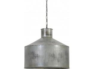 Závěsné světlo Lenny vintage stříbrné - Ø48*45 cm