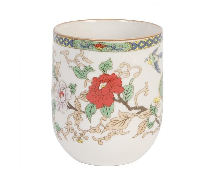Kalíšek na čaj květy -pr 6*8 cm