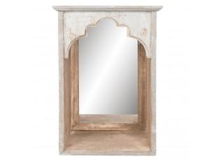 Zrcadlo zasazené v polici - 31*21*45 cm