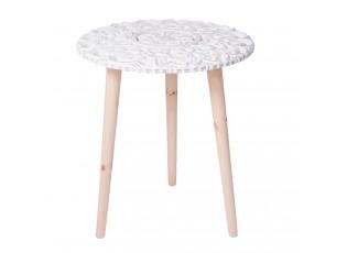 Kulatý odkládací stolek - Ø 40*46 cm