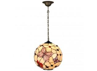 Závěsné svítidlo Tiffany Butterfly Garden - Ø 30*30 cm